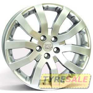 Купить WSP ITALY KINGSTON W2352 (HYP.SIL. - Гипер серебро) R20 W9.5 PCD5x120.7 ET53 DIA72.6