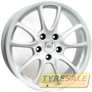 Купить WSP ITALY Corsair GT3/RS FL.F W1052 (WHITE - Белый) R19 W8.5 PCD5x130 ET53 DIA71.6