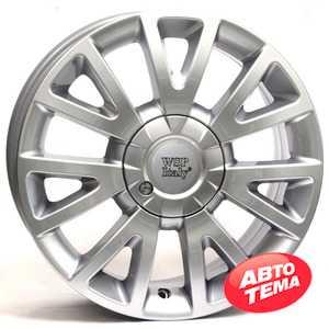 Купить WSP ITALY ASSEN/Clio W3303 (HYP.SIL. - Гипер серебро) R17 W7 PCD4x100 ET38 DIA60.1