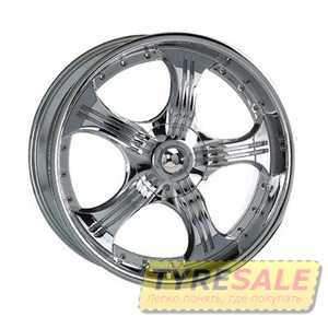 Купить KOSEI WK 155 CHROME R17 W7 PCD5x100/112 ET35 DIA73.1