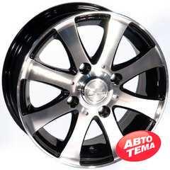 Купить ZW 461 (BP - Черный внутри полированый) R13 W5 PCD4x114.3 ET40 DIA73.1