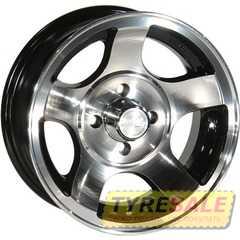 ZW 689 (BP - Черный внутри полированый ) - Интернет магазин шин и дисков по минимальным ценам с доставкой по Украине TyreSale.com.ua