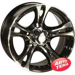 Купить ZW 269 (BP - Черный внутри полированый) R16 W8 PCD5x139.7 ET0 DIA110.5