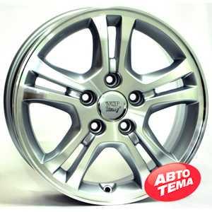 Купить WSP ITALY SALERNO W2403 (SIL. POL. - Серебро с полировкой) R16 W6.5 PCD5x114.3 ET55 DIA64.1