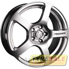 Купить RW (RACING WHEELS) H-218 HS R14 W6 PCD4x98 ET38 DIA58.6