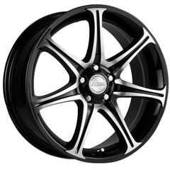 Купить RW (RACING WHEELS) H-134 BK-F/P R14 W6 PCD4x114.3 ET35 DIA67.1