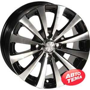 Купить ZW 247 (BP - Черный внутри полированый) R13 W5.5 PCD4x98 ET25 DIA58.6