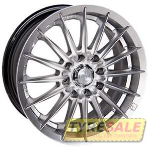 Купить RW (RACING WHEELS) H-155 HS R13 W5.5 PCD4x100 ET35 DIA67.1
