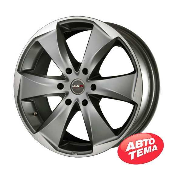 MAK RAPTOR 6 Graphite Mirror Face - Интернет магазин шин и дисков по минимальным ценам с доставкой по Украине TyreSale.com.ua