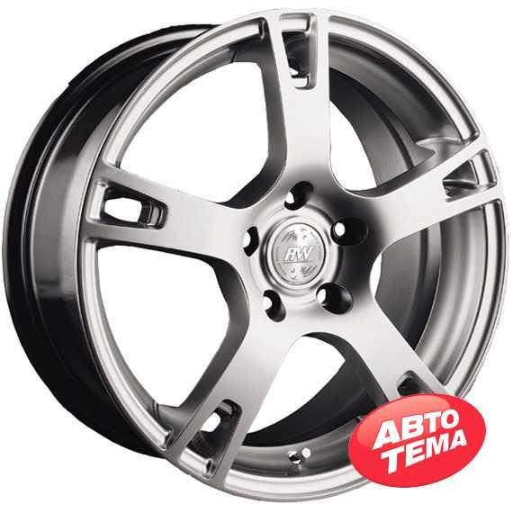 RW (RACING WHEELS) H-335 BK-PBL/FP - Интернет магазин шин и дисков по минимальным ценам с доставкой по Украине TyreSale.com.ua