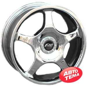 Купить FUJIBOND F137 CHROME R13 W5.5 PCD8x98/100 ET35 DIA73.1
