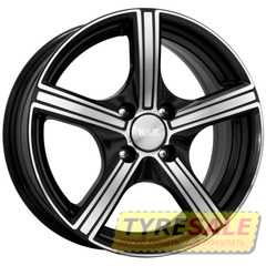 Купить КиК Спринт(алмаз черный) R16 W6.5 PCD5x105 ET39 DIA56.6