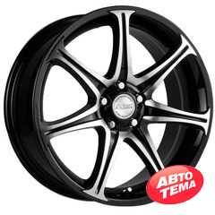 RW (RACING WHEELS) H-134 BK-F/P - Интернет магазин шин и дисков по минимальным ценам с доставкой по Украине TyreSale.com.ua
