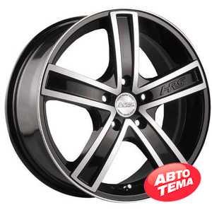Купить RW (RACING WHEELS) H-412 BK/FP R14 W6 PCD4x100 ET38 DIA67.1