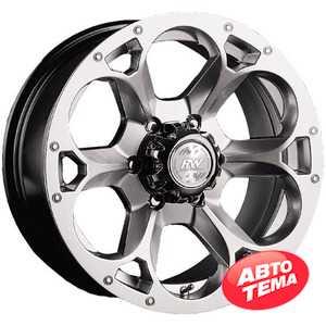 Купить RW (RACING WHEELS) H-276 BK-F/P R15 W7 PCD5x139.7 ET13 DIA108.2