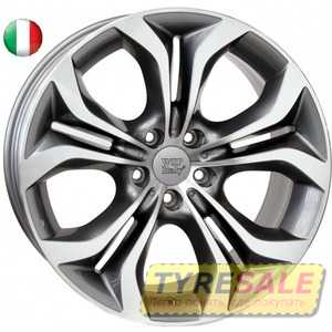 Купить WSP ITALY AURA W674 ANTHRACITE POLISHED R18 W8 PCD5x120 ET43 DIA72.6