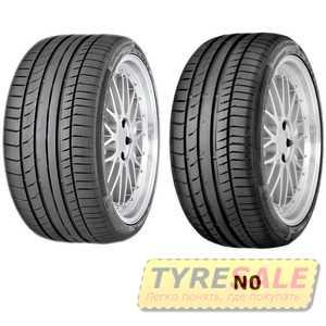 Купить Летняя шина CONTINENTAL ContiSportContact 5 235/55R18 100V
