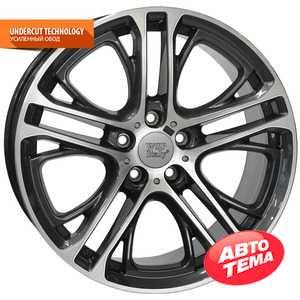 Купить WSP ITALY XENIA W677 DIAM BLACK POLISHED R19 W8 PCD5x120 ET30 DIA72.6