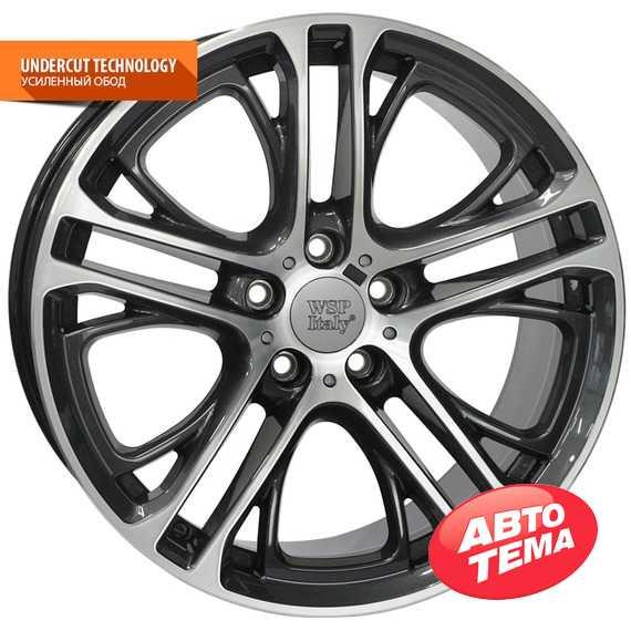 WSP ITALY XENIA W677 DIAM BLACK POLISHED - Интернет магазин шин и дисков по минимальным ценам с доставкой по Украине TyreSale.com.ua
