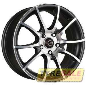 Купить RW (RACING WHEELS) H-470 BK-F/P R14 W6 PCD4x108 ET38 DIA67.1
