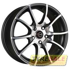 Купить RW (RACING WHEELS) H-470 BK-F/P R14 W6 PCD4x98 ET38 DIA58.6