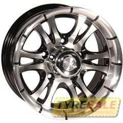 ZW 268 (BP - Черный внутри полированый) - Интернет магазин шин и дисков по минимальным ценам с доставкой по Украине TyreSale.com.ua