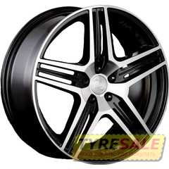 Купить RW (RACING WHEELS) H-414 BK/FP R16 W7 PCD5x114.3 ET40 DIA67.1