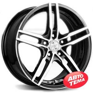 Купить RW (RACING WHEELS) H 534 BKFP R15 W6.5 PCD5x114.3 ET40 DIA67.1
