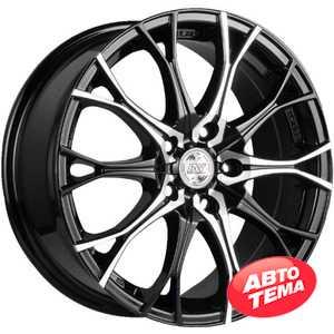 Купить RW (RACING WHEELS) H 530 BKFP R16 W7 PCD5x112 ET40 DIA66.6