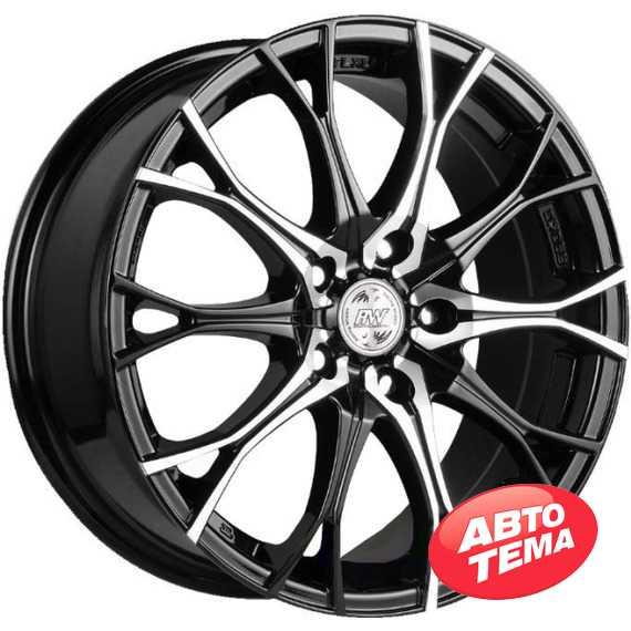 RW (RACING WHEELS) H 530 BKFP - Интернет магазин шин и дисков по минимальным ценам с доставкой по Украине TyreSale.com.ua