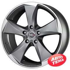 MAK RAPTOR 5 Graphite Mirror Face - Интернет магазин шин и дисков по минимальным ценам с доставкой по Украине TyreSale.com.ua