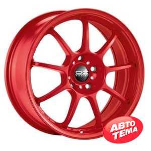 Купить OZ ALLEGGERITA HLT 4F Matt Red R17 W7 PCD4x100 ET30 DIA68
