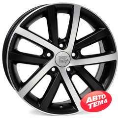 Купить WSP ITALY Rheia VO60 W460 DULL BLACK POLISHED R16 W6.5 PCD5x112 ET54 DIA57.1