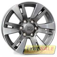Купить WSP ITALY VENERE TO65 W1765 HYPER SILVER R18 W7.5 PCD6x139.7 ET25 DIA106.1
