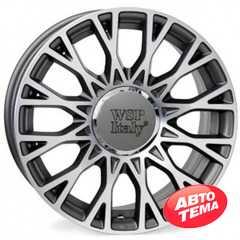 WSP ITALY Grace W162 Anthracite Polished - Интернет магазин шин и дисков по минимальным ценам с доставкой по Украине TyreSale.com.ua