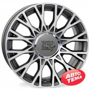 Купить WSP ITALY Grace W162 Anthracite Polished R15 W6 PCD4x98 ET35 DIA58.1
