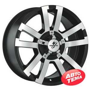 Купить FONDMETAL 7700 Black polished R18 W8.5 PCD5x114.3 ET35 DIA66.1