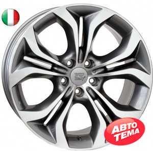 Купить WSP ITALY AURA W674 ANTHRACITE POLISHED R19 W8.5 PCD5x120 ET38 DIA72.6