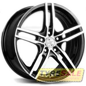 Купить RW (RACING WHEELS) H 534 BKFP R15 W6.5 PCD4x100 ET40 DIA67.1