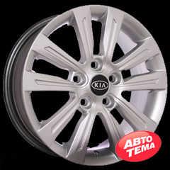 REPLICA Kia AR 376 Silver - Интернет магазин шин и дисков по минимальным ценам с доставкой по Украине TyreSale.com.ua
