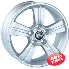 REPLICA Kia AF 7575 Silver - Интернет магазин шин и дисков по минимальным ценам с доставкой по Украине TyreSale.com.ua