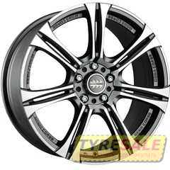 Купить MOMO Next Matt Anthracite Polished R15 W6.5 PCD5x112 ET38 DIA72.3