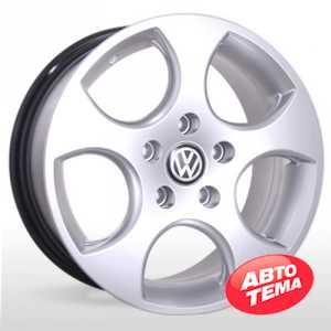Купить REPLICA Volkswagen AR 163 Silver R17 W7 PCD5x100 ET40 DIA57.1