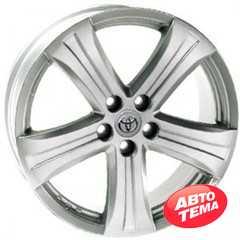 REPLICA Toyota AR 398 Silver - Интернет магазин шин и дисков по минимальным ценам с доставкой по Украине TyreSale.com.ua