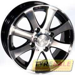 Купить ZW 461 (BP - Черный внутри полированый) R13 W5 PCD4x114.3 ET40 DIA69.1