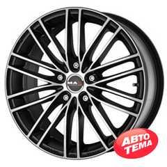 Купить MAK RAPIDE Ice Black R17 W7 PCD4x108 ET25 DIA65.1