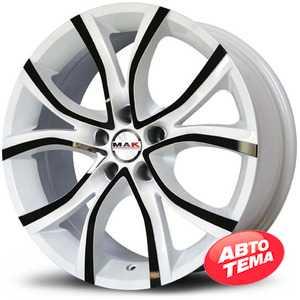 Купить MAK NITRO White R17 W7.5 PCD5x108 ET45 DIA72