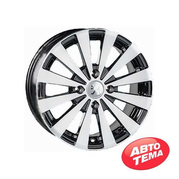 REPLICA Peugeot JT 1147 BM - Интернет магазин шин и дисков по минимальным ценам с доставкой по Украине TyreSale.com.ua