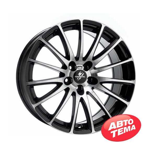 FONDMETAL 7800 Black Polished - Интернет магазин шин и дисков по минимальным ценам с доставкой по Украине TyreSale.com.ua