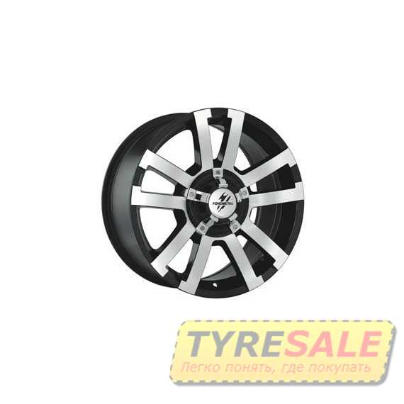 FONDMETAL 7700 Black polished - Интернет магазин шин и дисков по минимальным ценам с доставкой по Украине TyreSale.com.ua